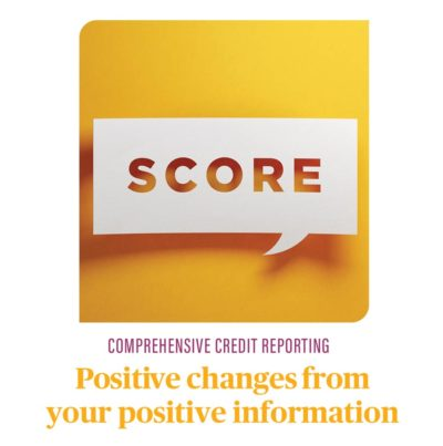 Positive Credit Reporting - advice from Angela Evans lending solutions. Mortgage Broker Brisbane.